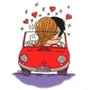примеры картинок: Love is...when you're in the driver's seat.